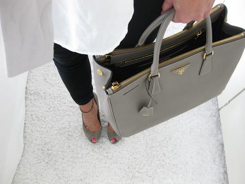 Prada Bags Grey