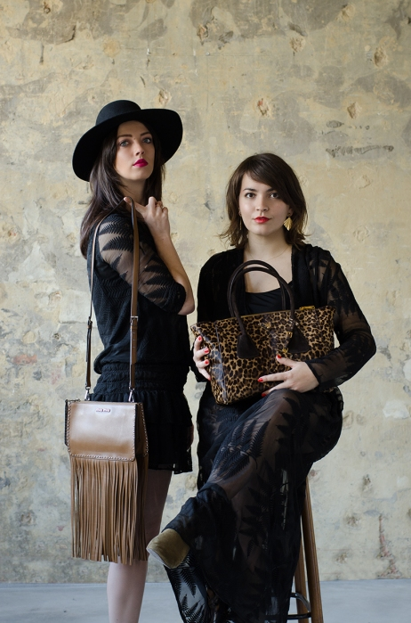 Sevens fashion shoot themerrymakers.be - Miu Miu fringe bag - Prada leopard bag
