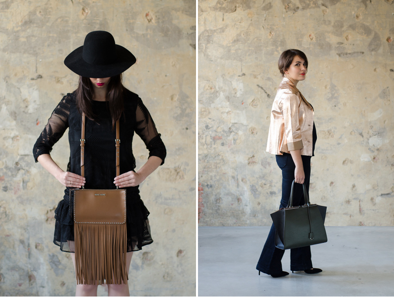Sevens fashion shoot themerrymakers.be - Miu Miu fringe bag - Fendi 3Jours