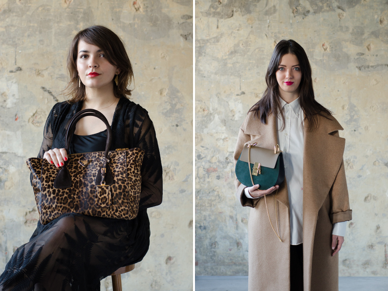 Sevens fashion shoot themerrymakers.be - Prada leopard bag - Chloé Drew